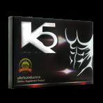 ผลิตภัณฑ์อาหารเสริมสำหรับผู้ชาย K5 (1 แผง)