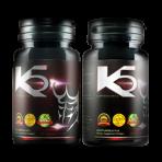 ผลิตภัณฑ์อาหารเสริมสำหรับผู้ชาย K5 (2 กระปุก)